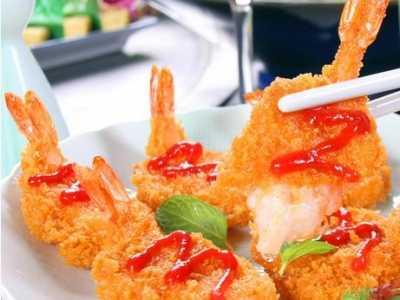 黄金蝴蝶虾 一道让人垂涎三尺的美食