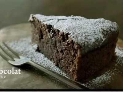 自制巧克力蛋糕 没有鸡蛋的巧克力蛋糕是这样做出来的