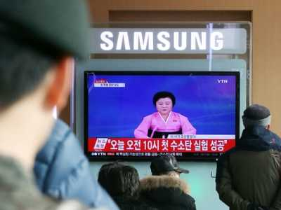 朝鲜氢弹试验成功 朝鲜宣布第一枚氢弹试验成功